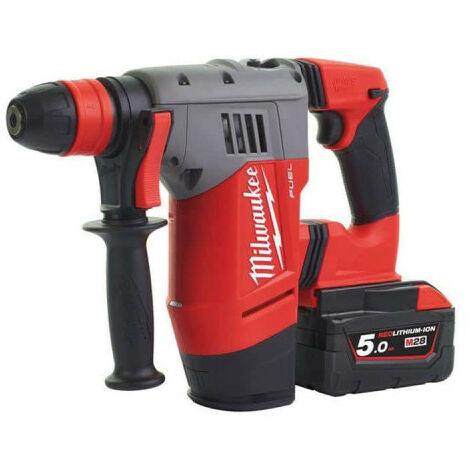 Perforateur Burineur MILWAUKEE SDS-Plus FUEL M28 CHPX-502X - 2 batteries 28V 5.0Ah - 1 chargeur 4933451025