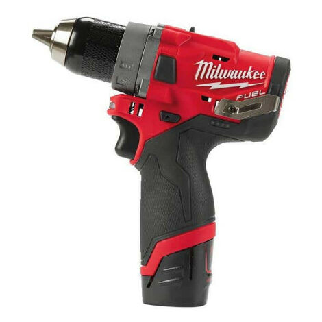 Perceuse visseuse MILWAUKEE FUEL M12 FDD-202X - 2 batteries 12V 2.0 Ah - 1 chargeur C12C 4933459816