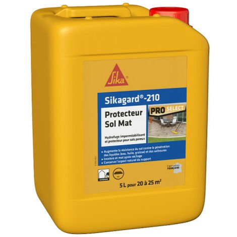 Imperméabilisant SIKA Sikagard Protection Sol MAT - 5L - Incolore