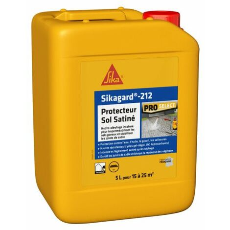 Imperméabilisant SIKA Sikagard Protection Sol SATINE - 5L - Incolore