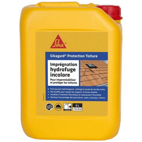 Hydrofuge Sika Sikagard Protection Toiture 5l