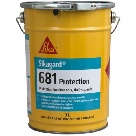 Protection incolore pour sols SIKA Sikagard 681 Protection - 3L - Incolore