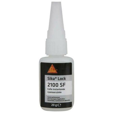 Super glue instantanée SIKA SikaLock 2100 SF - 20g - Transparent