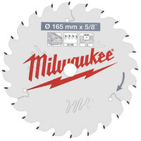 Lame scie circulaire MILWAUKEE 24 dents 1.6x165mm 4932471311