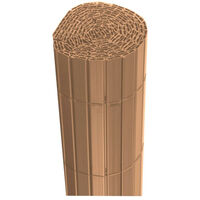 Canisse JET7GARDEN 1,5x2,5m - Bois teck - PVC - Double Face - Bois