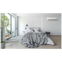 Pack Climatiseur reversible bi-split AIRTON - A Poser Soi-meme - 2600W - 3500W - Readyclim 2x4M - Support mural - 409733SM