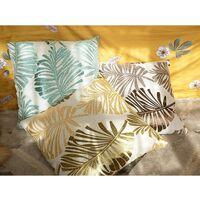 1 set di fodere per cuscino 45x45 cm, federa per cuscino in lino decorativo, senza cuscino, adatta per scrivania camera da letto soggiorno auto, verde