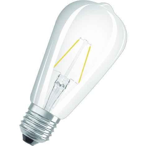 Bombilla LED Filamento Retro E27 2.5W 2700K Luz Calida OSRAM