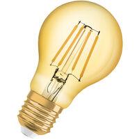 Bombilla LED Filamento Vintage E27 Oro 8W 2400K Luz Calida  2500K OSRAM