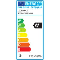 Bombilla LED Inteligente 5W GU10 Multicolor WIFI LEDVANCE