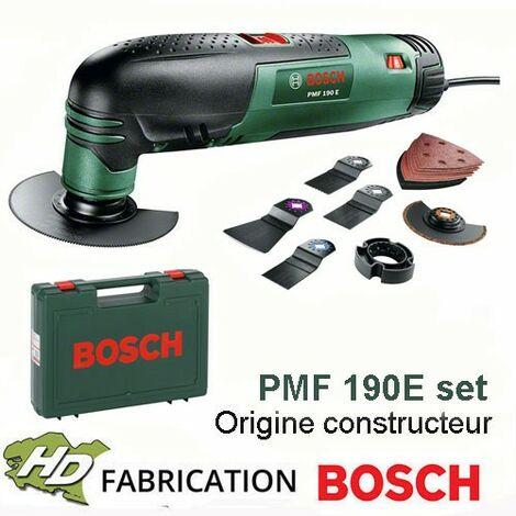 outil multifonction Bosch PMF 190E set - 190W