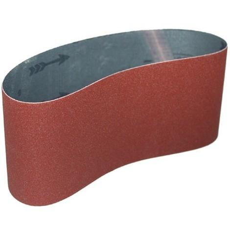 bande abrasive corindon supérieur 100x552 mm gr 24 à 600   500