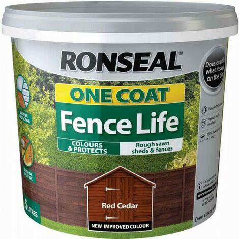 Ronseal Fencelife Red Cedar 5L
