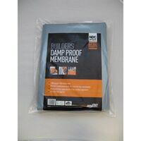 DPM43 Damp Proof Membrane Handipak Black 4mt x 3mt 300mu