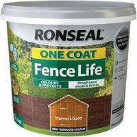 Ronseal Fencelife Harvest Gold 5L