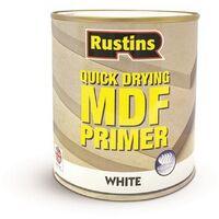 Rustins MDF White Primer 250ml