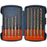 Makita P-66070 SDS Plus Drill Bit Set 10pc
