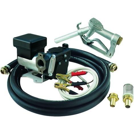 Kit pompe gasoil EKO auto amorçante 35L/mn-70L/mn 12-24 Volts PIUSI - S08570