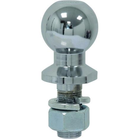 BOULE ATTELAGE DROITE Diam.50 mm + ECROU 2T -S16903