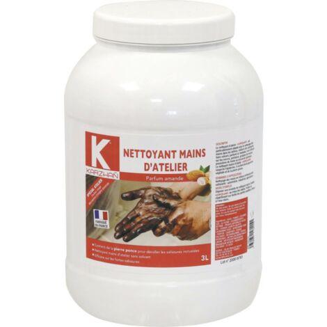NETTOYANT MICROBILLES MAINS ATELIER KARZHAN ROUGE 3 L amande S58115