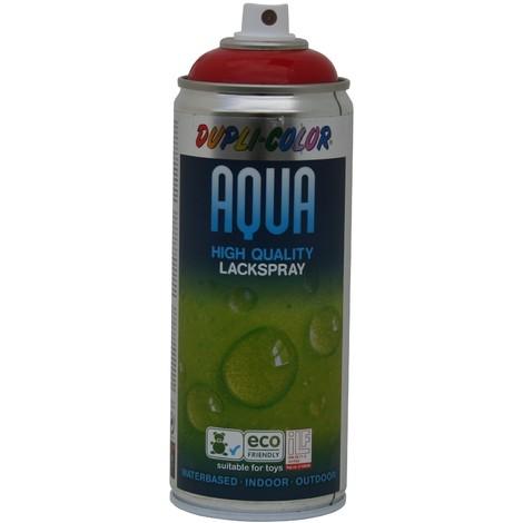 Peinture Aqua  ral 3000  Brillant, Rouge Feu, 350 ml  Duplicolor 252464 - MO252464