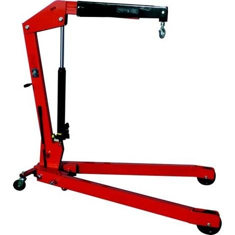 Grue d'atelier pliante 2000 Kg hauteur max 2550 mm - S13077