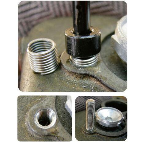 Coffret Kit réparation Filetage M5 à M12 -DRAKKAR TOOLS