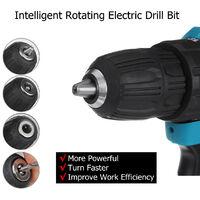 18V Clé à Chocs (sans Batterie) Boulonneuse à chocs rotative électrique 18V 350Nm 4000 rpm