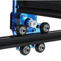 30W bricolage Laser gravure Machine 400mm * 380mm zone cadre coupe imprimante graveur métal bois coupe conception acier inoxydable