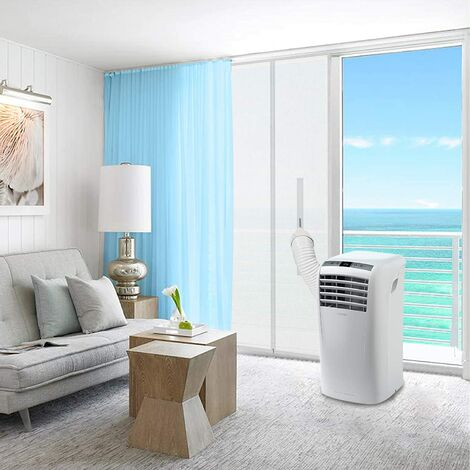 Curtain, can be used for balcony, door, mobile air conditioner, air conditioning, tumble dryer, exhaust air dryer, hot air unit with zipper, 400cm
