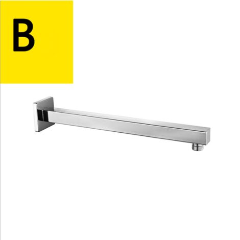 Shower arm stainless steel shower accessories, four-point interface type b