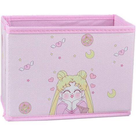 Cartoon Storage Box, Cute Japanese Anime Model Character Desktop Makeup Storage Box