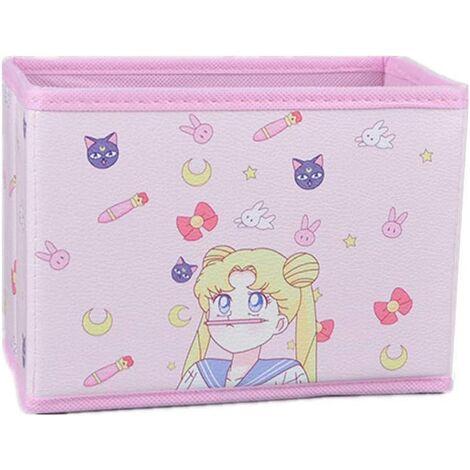 Cartoon Storage Box, Cute Japanese Anime Model Character Desktop Makeup Storage