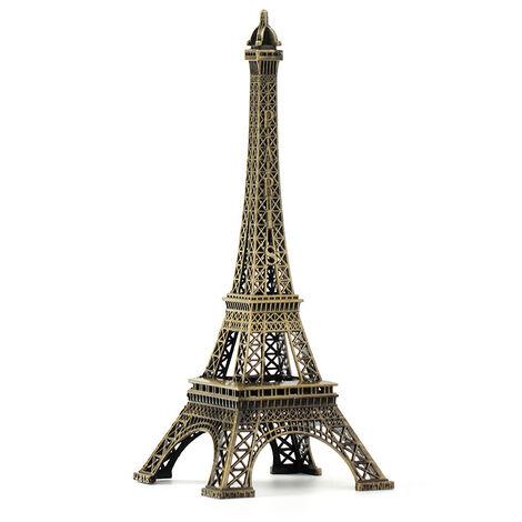 Eiffel Tower Retro European Paris Wrought Iron Metal Model Desk Ornaments