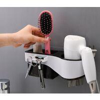 Bathroom Shelf Shelf Hair Dryer Shelf Red Hairdryer Hair Dryer