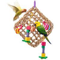 Bird toy parrot toy climbing net bird cage bird toy parrot rodent bird supplies
