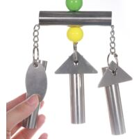 Parrot stand bells squirrel bells medium and large parrot toys bells stainless steel parrot cage toys