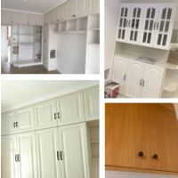 10x kitchen cabinet door handles closet drawer bed room furniture pull center 128mm, aluminum, b
