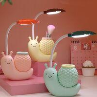 USB LED Office Lamp Charging Children's Play Eye Protection Cartoon Cartoon Snail