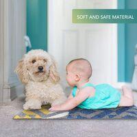 Anti-Slip Bath Mat, Indoor Doormat, Anti-Slip, Absorbent Resistant Door Mat, (50 x 80CM), Machine Washable, Carpet for Indoor, Outdoor, Living Room, Entrance, Stairs