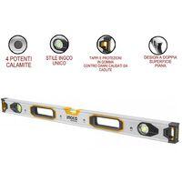 Livella magnetica PRO 80 cm alluminio - Ingco HSL38080M