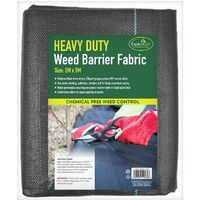 GardenKraft 10069 Heavy Duty Weed Control Fabric / 10m Coverage From 1 Individual 5m x 2m Barrier Roll / Multi-Purpose Garden Landscaping Ground Cover