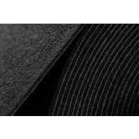 Moquette voiture TRIUMPH 990 noir n'importe quelle taille noir 80x200 cm