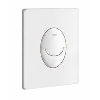 Pack WC Grohé Rapid SL Mural + Cuvette sans bride Rimless Slim + Plaque Blanche