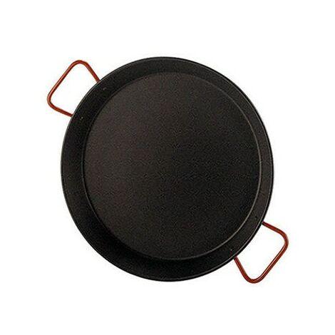 Poêle à paella antiadhésive valencienne pour 4 personnes 30 cm.