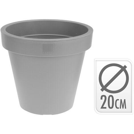 Pot d'injection gris ø 20cm EDM 74833