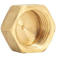 Tapon brass female 3/8 SAE Air conditioning
