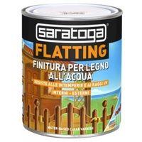 """Finitura """"FLATTING"""" all'acqua per legno OPACO by Saratoga 750 ml"""
