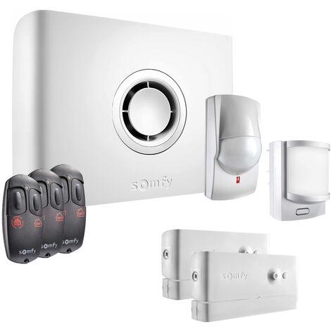 Somfy - Pack alarme Protexiom Start GSM Kit 1 - Blanc