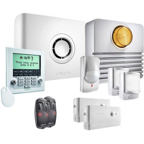 Somfy - Pack alarme Protexiom Ultimate GSM Kit 2 - Blanc